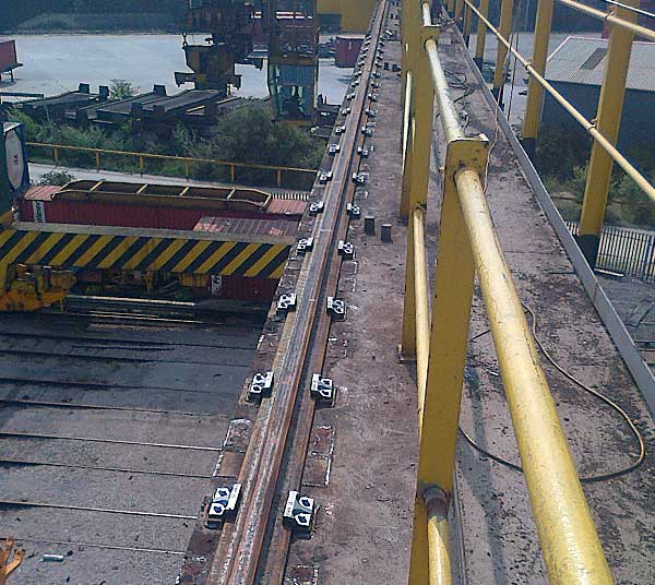 Crane Rail Clips & Fixings | Rapid Rail GB